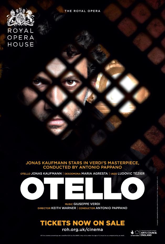 The Royal Opera House: Otello Poster